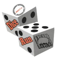 Meet  U  Dice  Run Logo